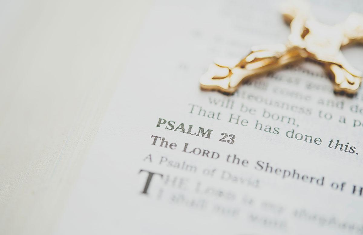Gebete sind fester Bestandteil einer Taufe